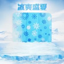 旷虎 夏季冰垫汽车座垫降温水垫免注水【单片】