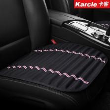 Karcle/卡客 四季通用汽车座垫单片三件套【黑色 前排单片】