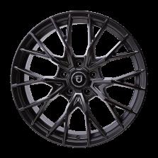 【热销款 买3送1 四只套装】丰途/FT106 17寸低压铸造轮毂 孔距5X114.3 ET40亚黑涂装