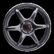 【新品 买3送1 四只套装】丰途/FR652 18寸 旋压铸造轮毂 孔距5X112 ET42亮铁灰+铣肋+车边
