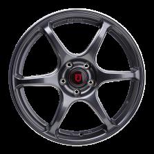 【新品 85折 四只套装】丰途/FR652 18寸 旋压铸造轮毂 孔距5X112 ET42亮铁灰+铣肋+车边