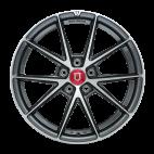 【前轮+后轮 4只套装】丰途/FR553 19寸 旋压铸造轮毂 孔距5X120 亮铁灰 宝马3系/老款5系/7系/X1/X3/凯迪拉克CTS