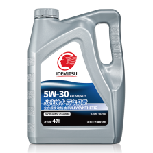 【百年品质】出光/IDEMITSU 全合成节能环保 SN/GF-5 5W-30 4L 全合成机油