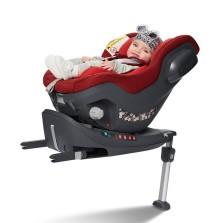 宝贝第一 启萌系列 0-4岁 isofix接口+防翻支撑腿 汽车儿童安全座椅 【星耀红】