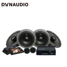 免费安装 丹拿DYNAUDIO ESOTAN 232 汽车音响改装 两分频套装+ 2XL-653+FEM480.6DSP同轴六喇叭处理器功放套餐