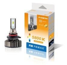 日本凤凰/PHOENIX/飞尼科斯 汽车LED大灯 X5 改装替换 9005 5800K 一对装