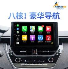 航睿 4G版 H2八核蓝光超清导航仪智能安卓系统智能车机语音操控 2+32G+高清倒车影像