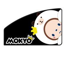皇冠猴MOKYO 磁吸防晒遮阳帘 正版授权卡通遮光布【B黑白猴前排副驾单片】
