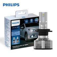 飞利浦(PHILIPS)星耀光第二代 汽车LED大灯 HIR2 LED汽车车灯 无损安装远光灯近光灯 6503K时尚白光 双支装