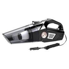 途虎定制 车用家用小型车载大功率吸尘器 充气泵照明胎压数显多功能四合一 有线指针款