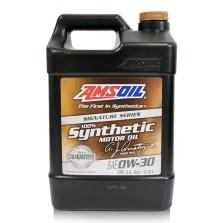 【美国原装进口】安索/AMSOIL 签名版系列 全合成长效静音 汽车机油润滑油 SN级 0W-30 3.78L【AZO1G】