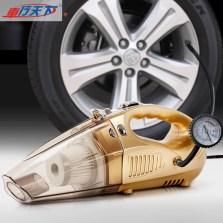 车行天下 车载吸尘器家 车两用测压大功率吸尘器汽车充气泵12V四合一干湿【标准版】