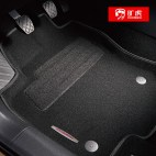 旷虎 3D小立体三防汽车地毯 专车专用脚垫【五座】【两套装】