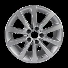 丰途严选/HG0443 18寸 宝马5系原厂款轮毂 孔距5X120 ET30银色涂装