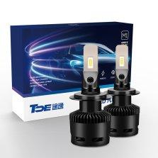 途虎定制 途逸汽车LED大灯 无损改装替换 H7 6000K 一对装 白光