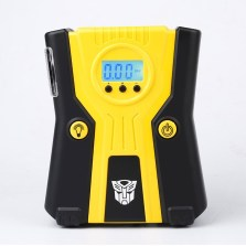 变形金刚 车载充气泵 预设充气自动启停【带应急照明灯】T003-2