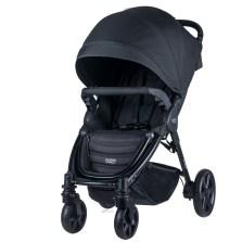 宝得适/Britax 欢行B-nest 婴儿推车可坐躺可折叠婴儿车轻便童车(闪电黑)