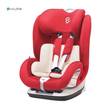 宝贝第一 铠甲舰队尊享版 9月-12岁 isofix 儿童汽车安全座椅(热情红)