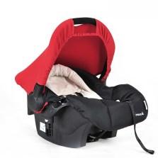 Pouch 婴儿提篮 新生儿汽车安全座椅 0-9个月 Q07(法拉利红)