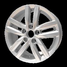 丰途严选/HG0482 14寸 捷达原厂款轮毂 孔距5X100 ET38银色涂装