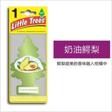 美国小树/Little Trees 汽车香片 香水挂件 除异味车载香水【奶油鳄梨】