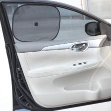车洁邦/CheJieBang 车用黑色网纱太阳侧挡遮阳挡 两个装44*36cm