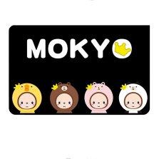 皇冠猴MOKYO 磁吸防晒遮阳帘 正版授权卡通遮光布【C萌趣猴-后排侧窗单片】