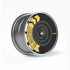 BA 湾区工业| 特斯拉model 3/y专用改装轮毂盖 黑色(联名款)2只装
