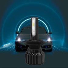 暴享 汽车LED大灯 H7 6000k 一对装 白光 近光【精光系列】