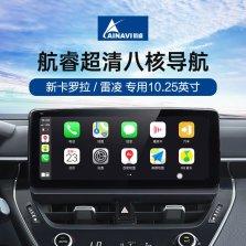 航睿  丰田卡罗拉雷凌车载大屏导航一体机 超清4G版10.2英寸1+32G+高清倒车影像