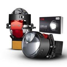 CNB GT600 直射式激光LED双光透镜 日亚黄激光大灯 6000K白光 免费安装