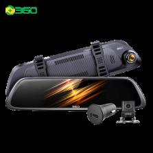 360行车记录仪M301套装版高清夜视前后双录