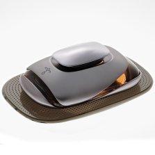 途雅(ETONNER)汽车香水 车载座式香水 汽车摆件 古龙香型 左岸香颂(金属版)