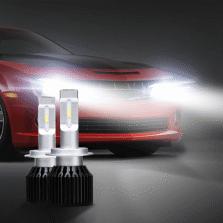 途虎定制 T1 Plus 汽车LED大灯 改装替换 9005/HB3 一对装 远近一体